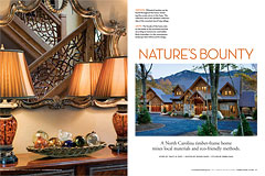 Timber Home Living, 2011 Annual Buyer's Guids, Nature's Bounty