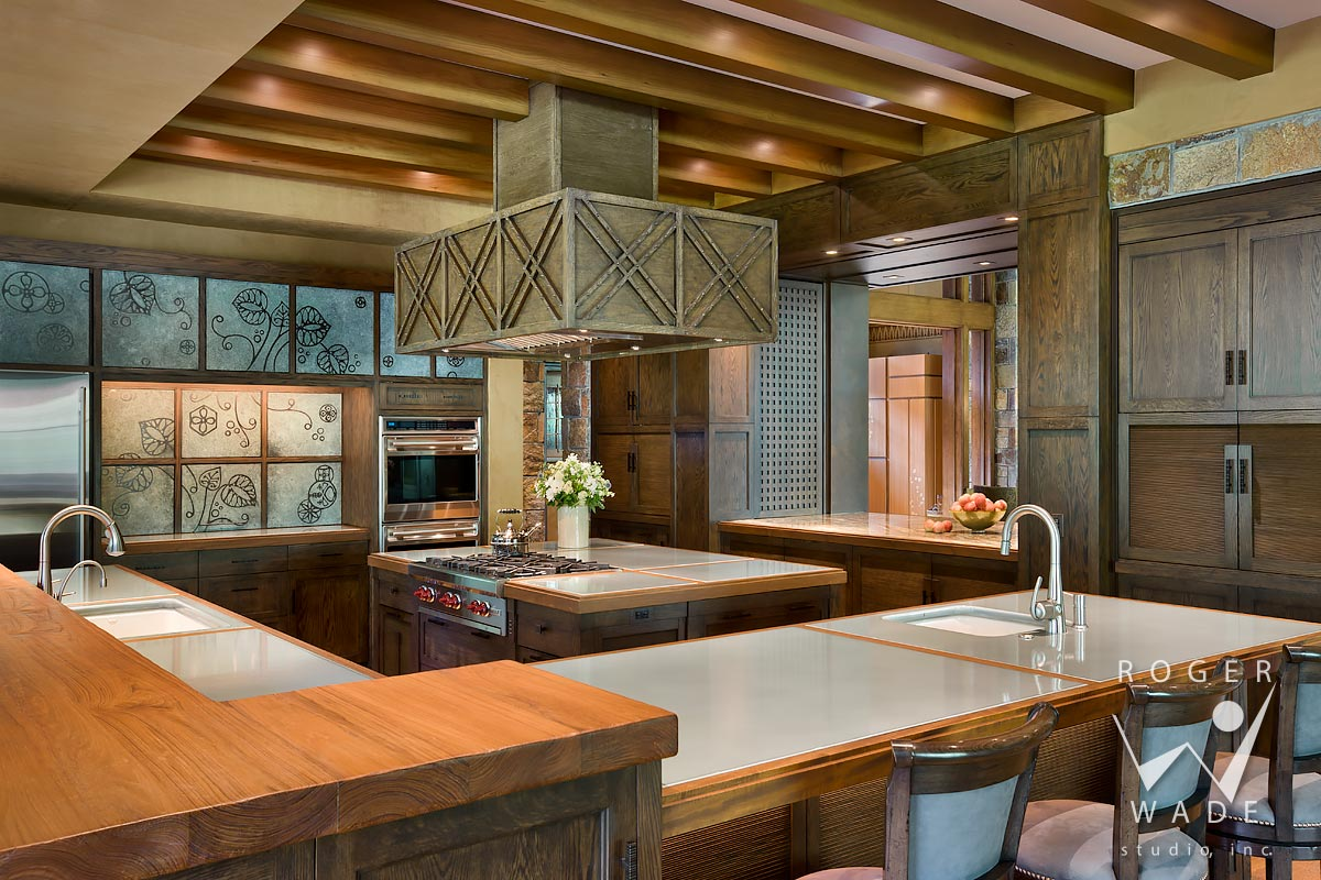 photo of modern interior design, kitchen, ketchum, id