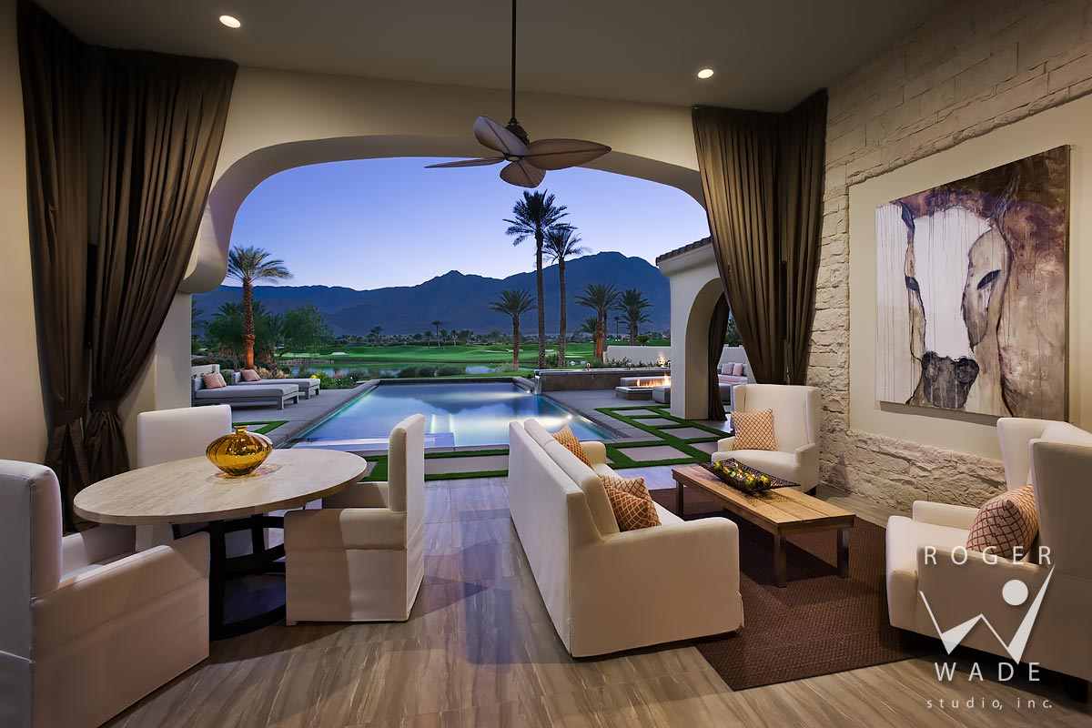 PRIVATE RESIDENCE LA QUINTA CALIFORNIA ANDALUSIA AT CORAL MOUNTAIN