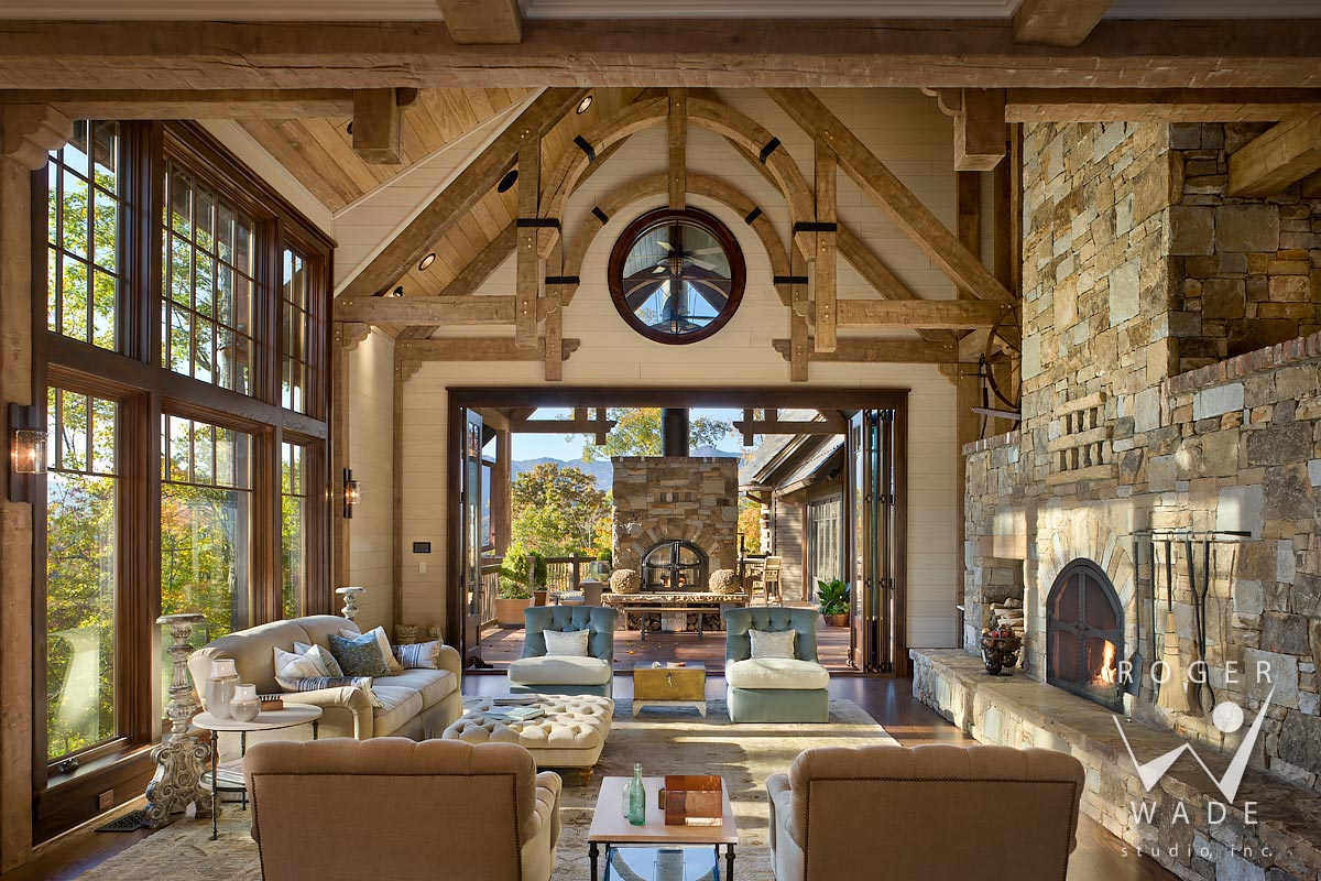 Timber Frame Photographer - Timber Frame Architectural