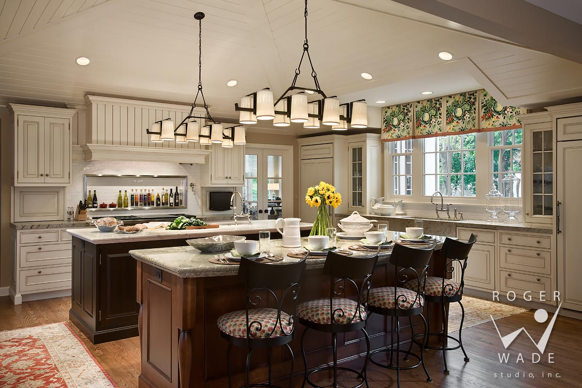 traditional interior photography, kitchen, glen ellyn, il